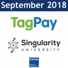 September 2018:  TagPay, Singularity, BIG BPI, France Invest