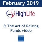 February 2019: Highlife Medical, speech on The Art of Raising Funds