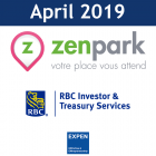 April 2019: ZenPark, RBC, Plug&Play, Successful B-Model